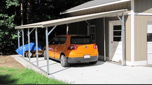 12×21 Lean Too Carport