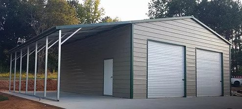 24×31 Garage w/12×31 Lean-too
