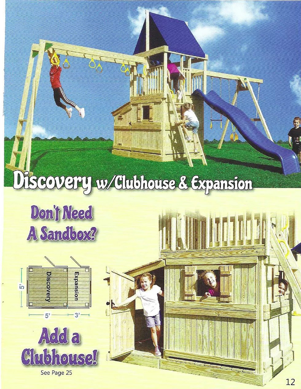 Discovery w/clubhouse & Expansion