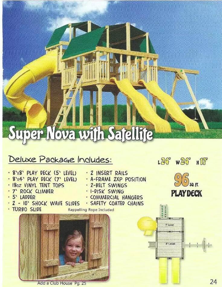Super Nova With Satellife